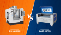 CNC Machine VS Laser Cutter